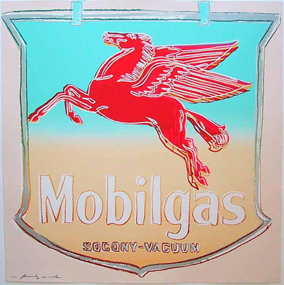 famous painting Mobil of Andy Warhol