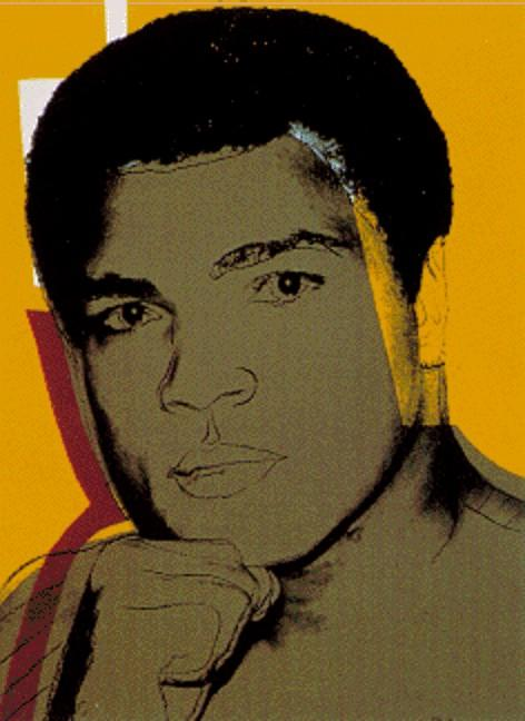 Order Art Reproductions Pop Art : Muhammad Ali by Andy Warhol | BuyPopArt.com