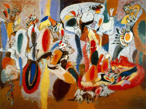Arshile Gorky - The Liver is the Cock's Comb