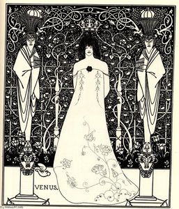 Aubrey Vincent Beardsley - Frontispiece for 'Venus and Tannhauser'