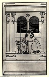 Aubrey Vincent Beardsley - The Story of Venus and Tannhaeuse, frontispiece
