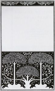 Aubrey Vincent Beardsley - Title page of Grey Ross
