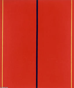 Barnett Newman - Who's Afraid of Red, Yellow and Blue II