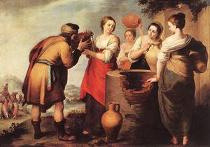 Bartolome Esteban Murillo - Rebecca and Eliezer