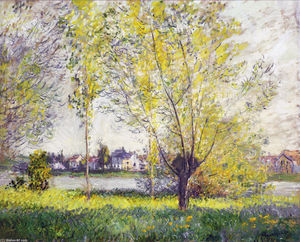 Claude Monet - The Willows