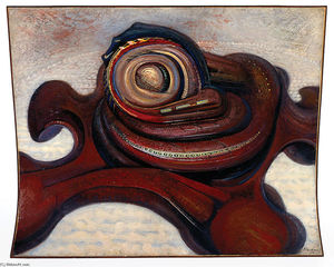 David Alfaro Siqueiros - Atomic aircraft