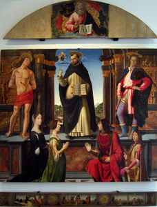 Domenico Ghirlandaio - Altarpiece of St. Vincent Ferrer