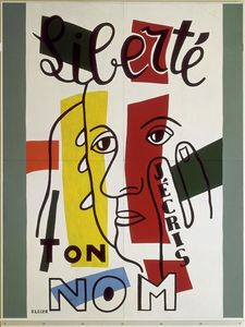 Fernand Leger - Freedom, I write your name