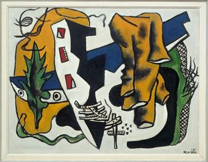 Fernand Leger - Green Leaf