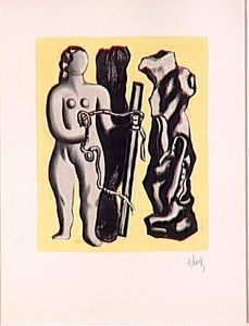 Fernand Leger - The alignment star