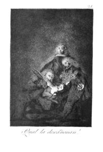 Francisco De Goya - How they break her barrel