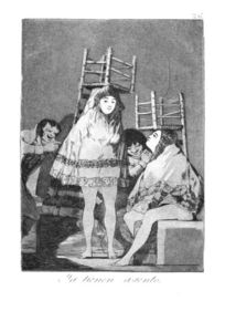 Francisco De Goya - Now they are sitting well