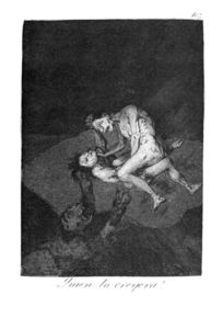 Francisco De Goya - Who could believe it!