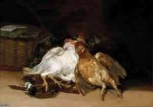 Francisco De Goya - Dead Birds