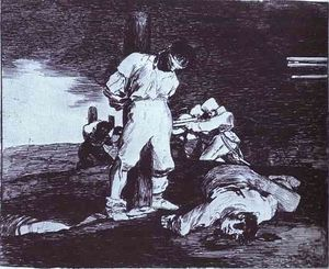 Francisco De Goya - And It Cannot Be Changed