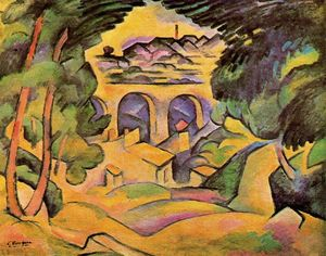Georges Braque - Viaduct at Estaque