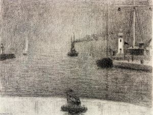 Georges Pierre Seurat - The Port of Honfleur