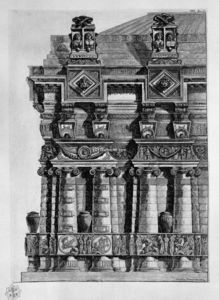 Giovanni Battista Piranesi - Architectural decoration