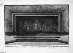 Giovanni Battista Piranesi - Demonstration of in large atrium aforesaid