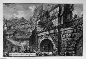 Giovanni Battista Piranesi - Perspective of the same monument