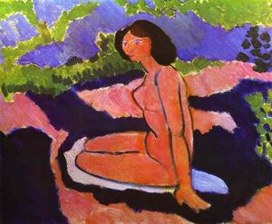 Henri Matisse - Pink Nude, or Seated Nude