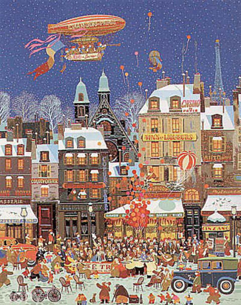 Order Art Reproductions Pop Art : Ouverture D'un Cafe by Hiro Yamagata | BuyPopArt.com