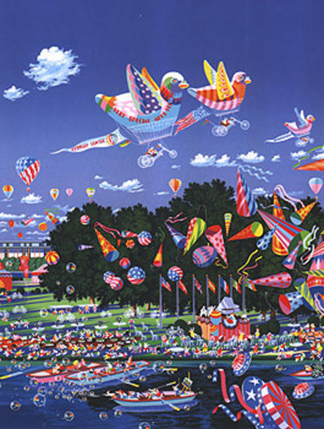 famous painting Very Special Celebration of Hiro Yamagata