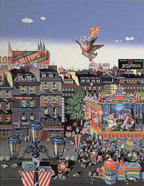 famous painting Once Upon A Time of Hiro Yamagata