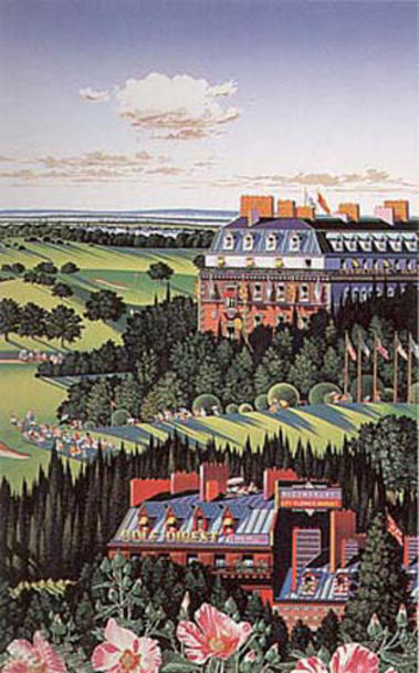 famous painting Country Club of Hiro Yamagata