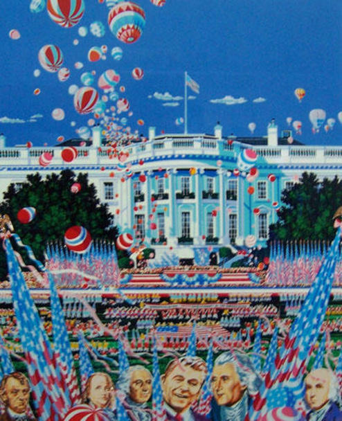 famous painting U S Consitution of Hiro Yamagata