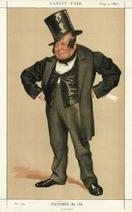 James Jacques Joseph Tissot - Caricature of James Delahunty M.P.