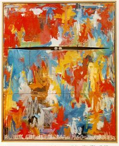 Jasper Johns - Painting with Two Balls