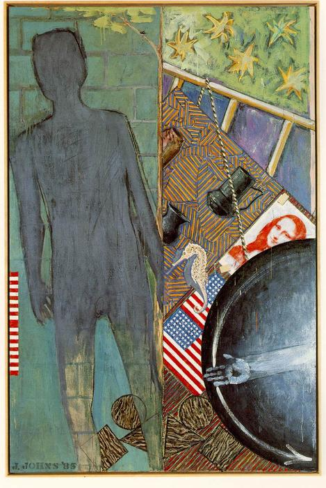 famous painting Summer of Jasper Johns