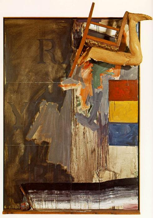 famous painting Watchman of Jasper Johns