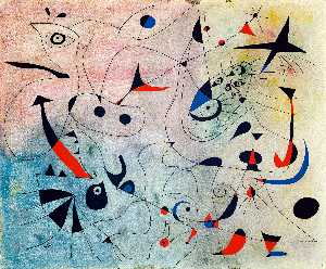 Joan Miro - Constellation: The Morning Star