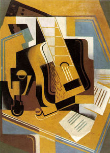 Juan Gris - Photograph of The Guitar