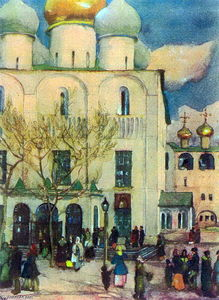 Konstantin Yuon - The First Easter's Day