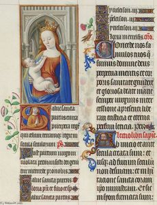 Limbourg Brothers - The Madonna and the Child
