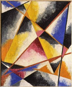 Lyubov Sergeyevna Popova - Untitled Compositions