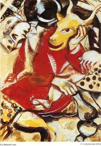 Marc Chagall - To My Betrothed