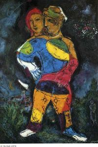 Marc Chagall - The walk