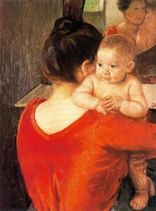 Mary Stevenson Cassatt - Mother and Child (9)
