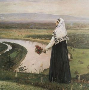Mikhail Nesterov - On the mountains