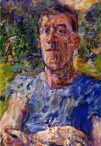 Oskar Kokoschka - Self-portrait of a 'Degenerate Artist'