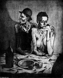 Pablo Picasso - A simple meal