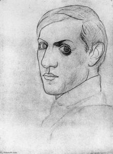 Pablo Picasso - Self-Portrait (12)