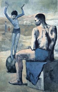 Pablo Picasso - Girl on the ball