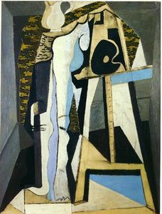Pablo Picasso - Interior with easel
