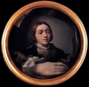 Parmigianino - Self Portrait at the Mirror