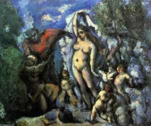 Paul Cezanne - The Temptation of St. Anthony